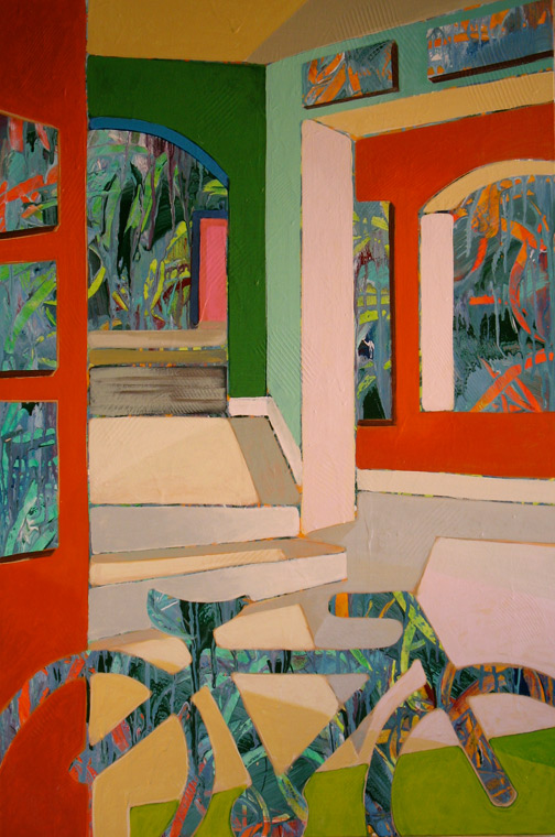 Minas Konsolas painting: Dream City Interior (Variation 5)