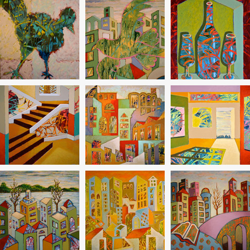 Minas Konsolas Dream City painting gallery
