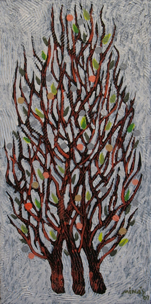Minas Konsolas painting: Branch (Variation 4)