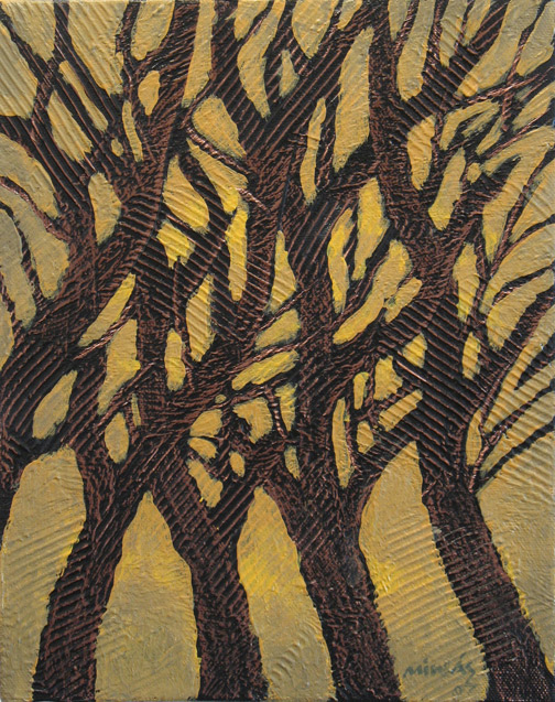 Minas Konsolas painting: Thicket (Variation 8)