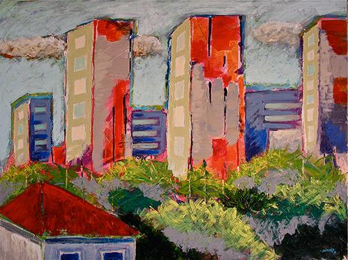 Minás Konsolas | Sonnet City Paintings | 443-802-8400